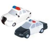 Transportation Series Police Car Stress Reliever