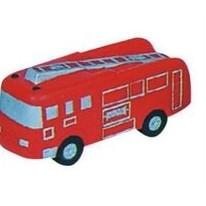 Transportation Series Fire Truck Stress Reliever